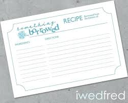 Recipe Cards Templates Recipe Cards For Bridal Shower Recipe Cards For Bridal Shower