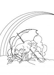 Small Picture Coloring Pages Kids Rainbow Coloring Pages For Kids Rainbow