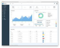 Chart Icon Bootstrap Top 18 Bootstrap Admin Panel Templates 2019 Colorlib
