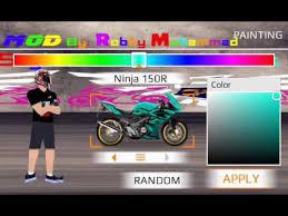 game drag bike mod by robby muhammad youtube