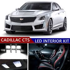 Cadillac Cts Lights Sky Auto Inc Led Premium Xenon White Light Interior Package Kit For Cadillac Cts 2008 2016 18 Pcs