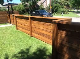 low horizontal wood fence. Low Horizontal Wood Fence I Nongzico . P
