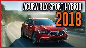 2018 acura hybrid. Simple Hybrid 2018 Acura RLX Sport Hybrid Seamlessly Review Inside Acura Hybrid T