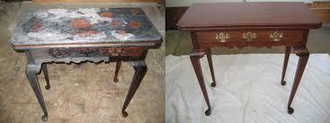 Antique restoration Michigan professional furniture restoration