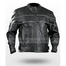 vented bike riding cruiser leather jacket
