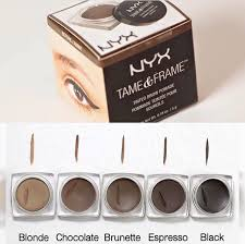 nyx tame and frame for eyebrows dupe for abh dipbrow pomade