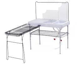 Ozark Trail Portable Camp Kitchen And Sink Table  EBayCamping Kitchen Sink