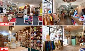 Independent Interior Designer Run Down Independent Shops Are Given A New Lease Of Life