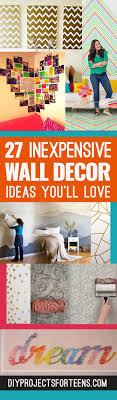 cute diy wall art ideas you ll love creative room decor on a budget on inexpensive wall art projects with cool cheap but cool diy wall art ideas for your walls diy wall