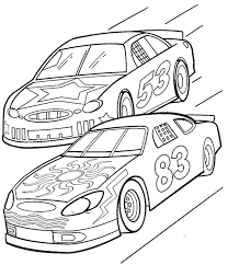 car printable coloring pages.  Car Printable Race Car Coloring Pages For P