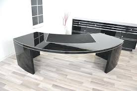 large glass office desk. Large Glass Desk Extra For Sale Black Office
