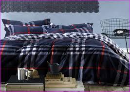 plaid bedding sets