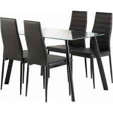 catchy dining table set for 4 glass dining table set 4 chairs wildwoodsta
