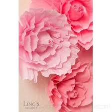 Pink Paper Flower Decorations Lings Moment Large Paper Flower Decorations 6 X Pink Paper