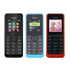 nokia keyboard phone. refurbished original nokia 105 1050 cell phone multi language old keyboard mobile free shipping sample 7