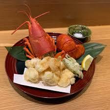 Lobster Tail Tempura SOFT SHELL CRAB ...