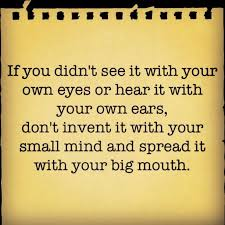 Small Minds on Pinterest   Gossip Quotes, Im Beautiful Quotes and ... via Relatably.com