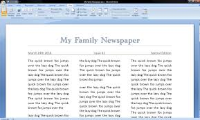 Microsoft Word Newspaper Template 003 Newspaper Template For Microsoft Word Example Ideas
