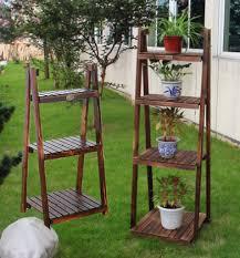 garden rack. Free Shipping Wood Flower Wooden Storage Rack Shelf Garden Pot Holder Home Decoration