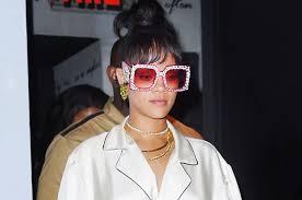 gucci sunglasses. the get: rihanna\u0027s met gala after-party gucci sunglasses