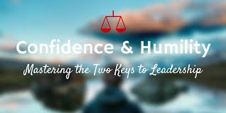 the humility confidence seesaw the untold secret of great leaders  confidence and humility