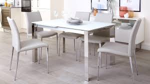 18 sleek glass dining tables white table room white frosted glass extending dining table