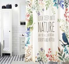 nature shower curtain charming decoration look up in to nature shower curtain waterproof mildewproof polyester fabric
