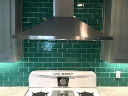 green glass backsplash kitchen tiles design dark green glass subway tile copper tile green glass backsplash