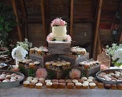 wedding cupcake stands. Unique Stands Rustic Cake Stand 10in  21in  Rustic Wedding Cake Stand Wood Cupcake  Decorations In Wedding Cupcake Stands