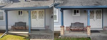 exterior column wraps. Porch Post Wrap Best Exterior Column Wraps Contemporary Amazing House Decorating 7