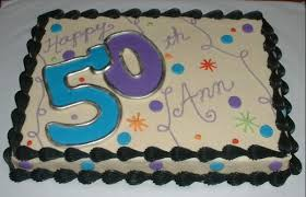 11 50th Birthday Sheet Cakes For Women Photo 50th Birthdays Sheets