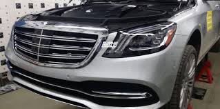 2018 mercedes s class facelift. 2018 mercedes-benz s-class facelift spotted without camouflage mercedes s class c