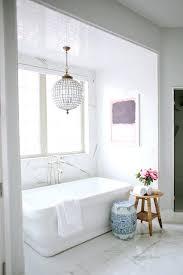 bathrooms with chandeliers bathroom chandeliers