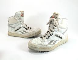 reebok high top shoes for men. mens white reebok high top sneakers 1980s size 9 by kokorokoko, $32.00 shoes for men