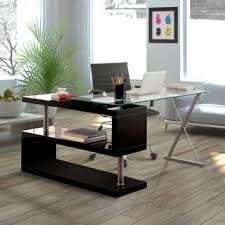 L shaped home office desk Wall Mounted Strick Bolton Mense Convertible Executive Desk Overstockcom Buy Lshaped Desks Online At Overstockcom Our Best Home Office