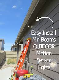 mr beams sent me outdoor motion sensor lights for review purposes