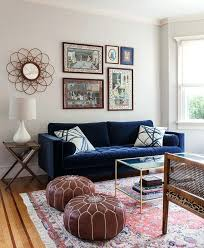 dark blue couch appealing blue sofa living room navy design with velvet dark blue tufted seat