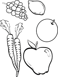 Enjoy these images of fruits and vegetables in our gallery. Printable Fruits And Vegetables Coloring Page For Kids Supplyme
