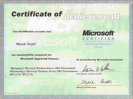 Microsoft Certificate Template 24 microsoft office certificate template mac resume template 1
