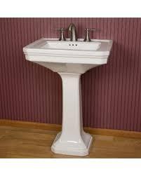 large pedestal sink. Delighful Sink Kacy Porcelain Pedestal Sink Large White  Signature Hardware  And Large Sink A