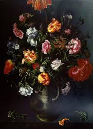 vanitas still life 1974 1 a vase with flowers