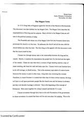 magna carta study resources 2 pages the magna carta essay
