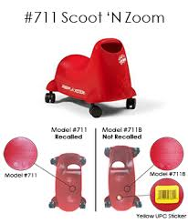 radio flyer tricycle recall product recalls