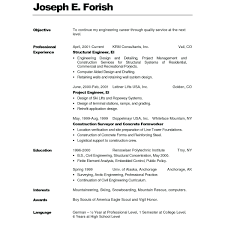 Resume Examples Formats Honors And Awards Resume Examples Sample Resume Format 2019