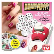 Hollywood Nails – All in one Nail Art System – SK Collection