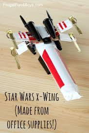 cool handy office supplies. Diy Office Supplies. How To Make A Star Wars X-wing Out Of Cool Handy Supplies C