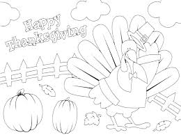 Thanksgiving Pages To Print And Color Coloring Sheet Turkey Pictures