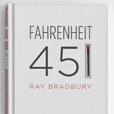 artist elizabeth perez remakes the cover of fahrenheit 451 with a screen printed spine featuring a