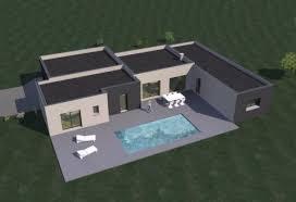 fr plan maison contemporaine de plain pied 157 m² 4 chambres t5 modèle amazon