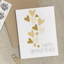 Wedding Anniversary Greeting Card Designs Hearts Happy Anniversary Card Happy Anniversary Cards